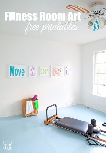 Move it or lose it free printable wall art for a home gym or fitness