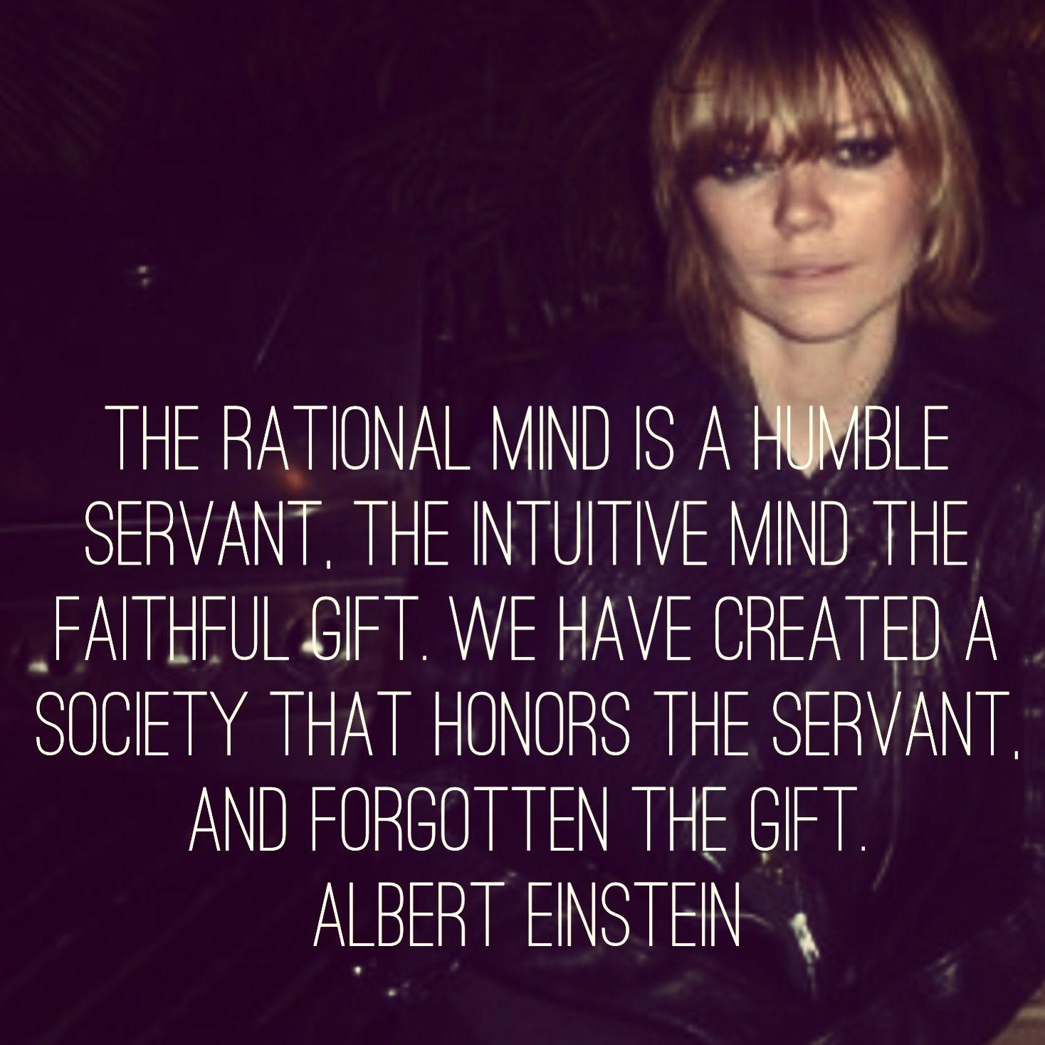 Conscious Quotes Quote Einstein Mind Conscious Subconscious Gift Servant Great