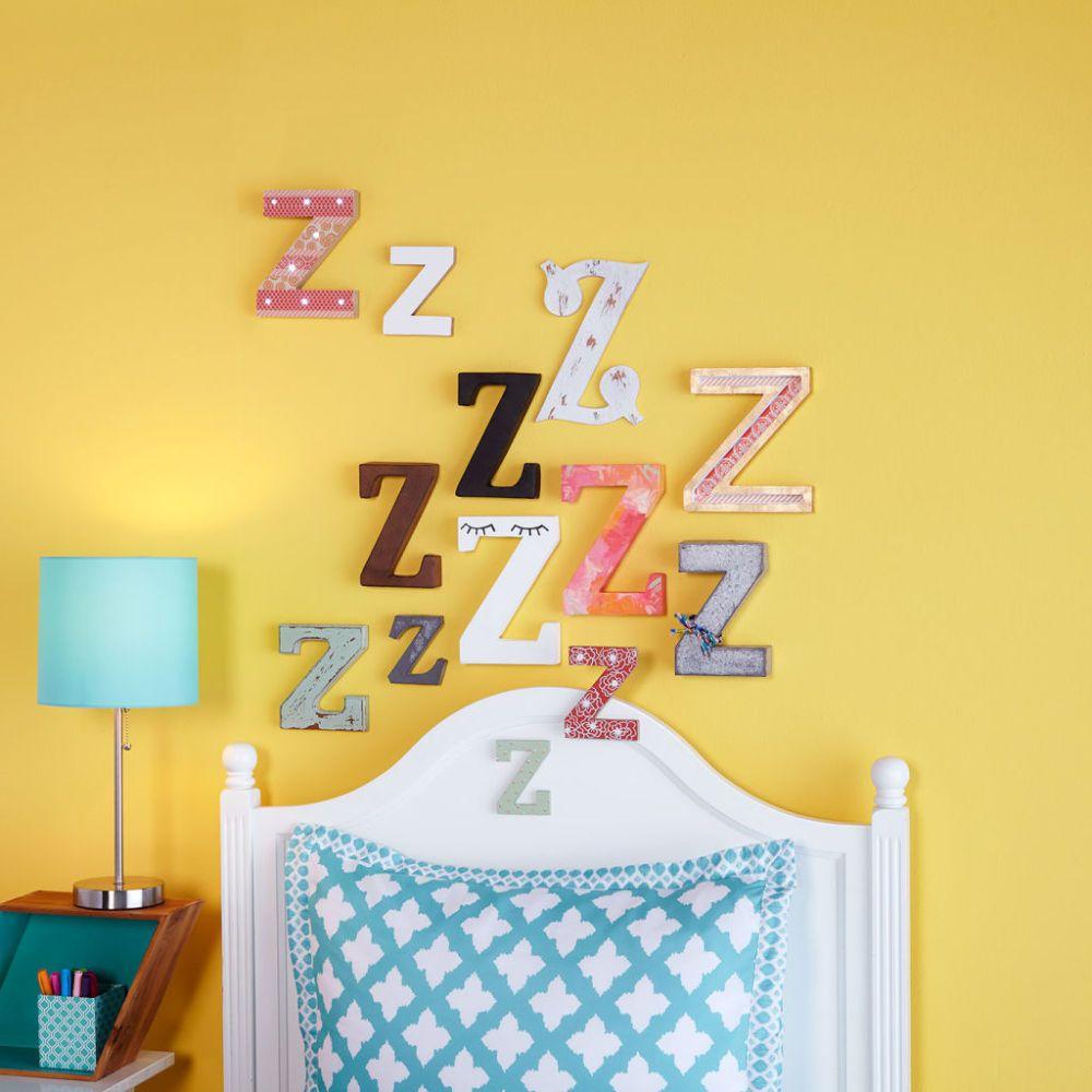Create an adorable Z-Z-Z Wall using Make Market Alphabet Soup | Home ...