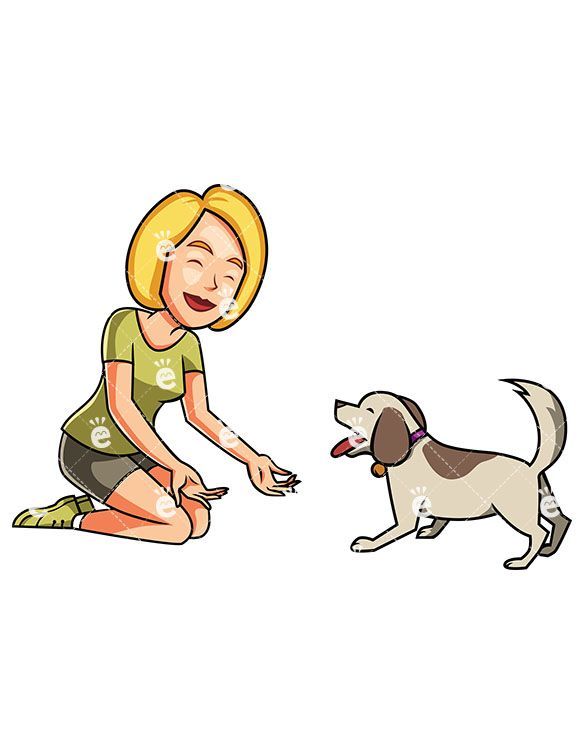 A Woman And Her Small Dog Playing Together Bff Pictures Small