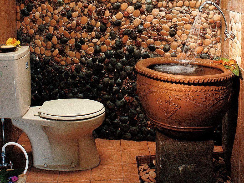 desain kamar mandi batu alam | kamar mandi in 2019 | pinterest