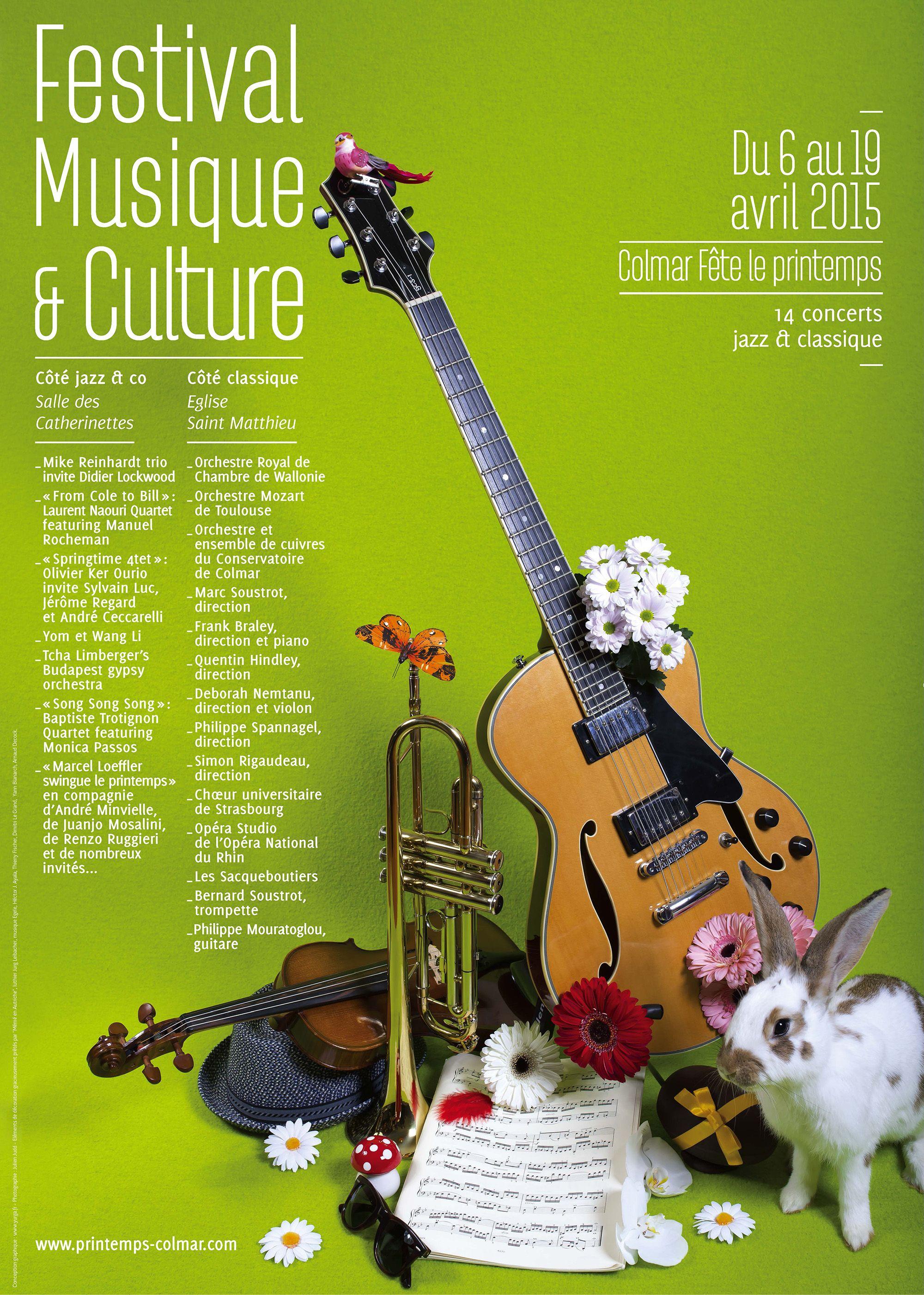 Festival ,Musique et Culture - Colmar Fête le printemps www.printemps-colmar.com