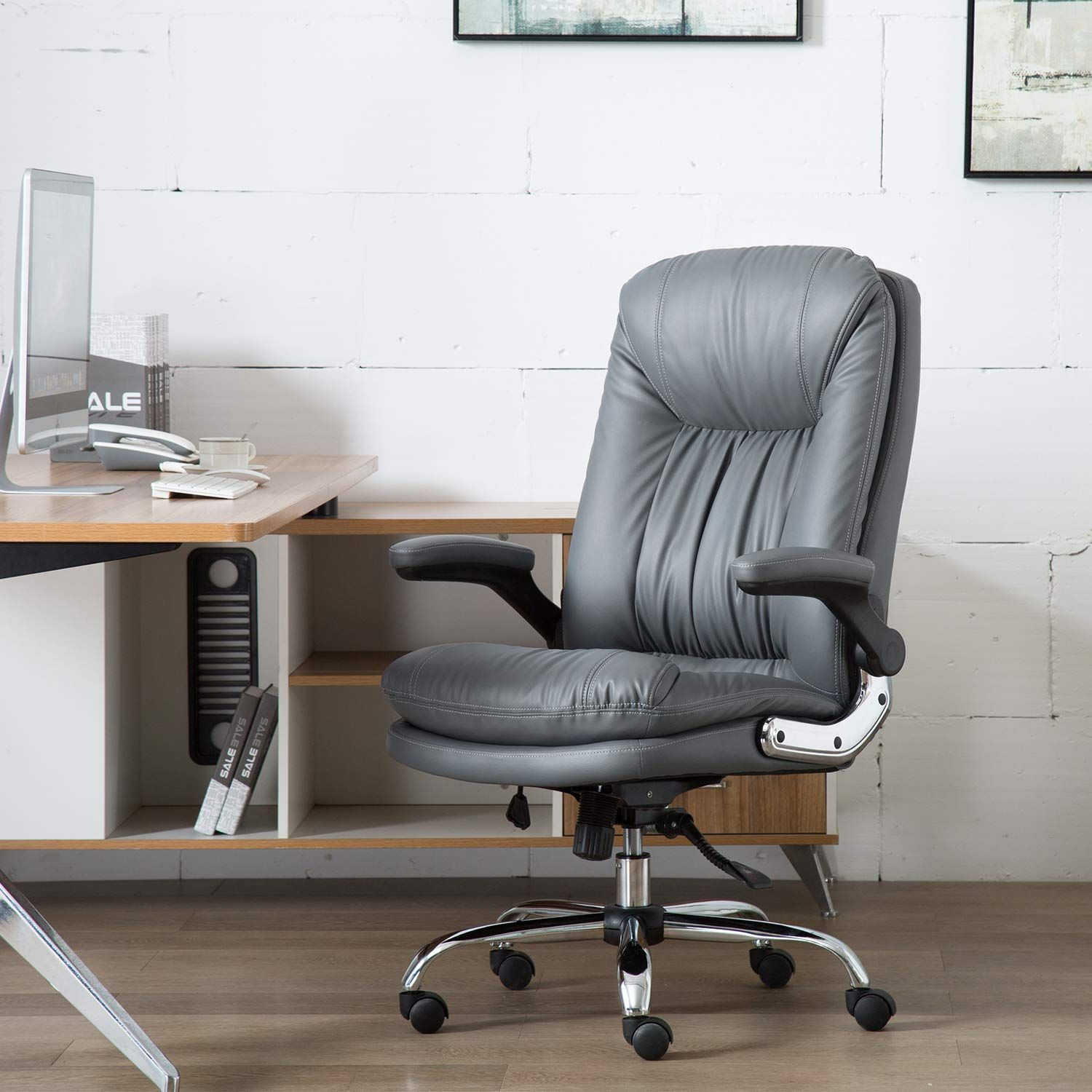 YAMASORO Ergonomic Executive Office Chair Adjustable
