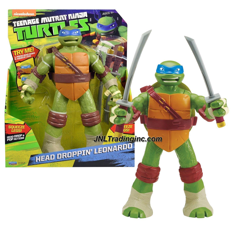 Playmates Year 2014 Teenage Mutant Ninja Turtles Tmnt Head Droppin