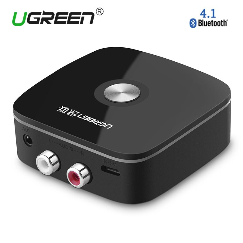 Wireless Bluetooth Receiver Adapter Jack Car Portable Aux Audio 4.2 3.5mm 2RCA