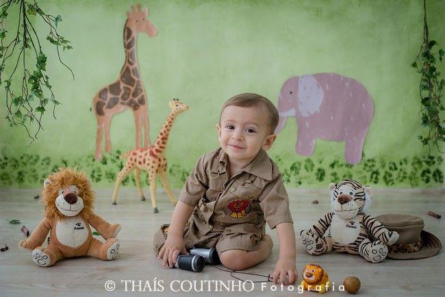 00a10af0b baby boy safari photo theme, ensaio bebe 1 ano safari | Joint ...