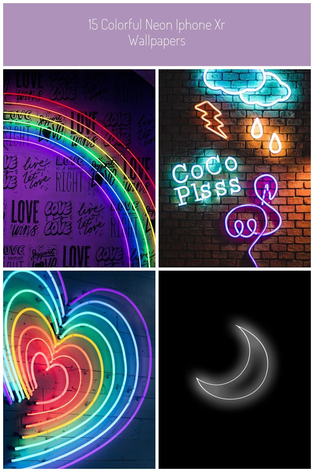 Neon iPhone Wallpapers by Preppy Wallpapers colors neon