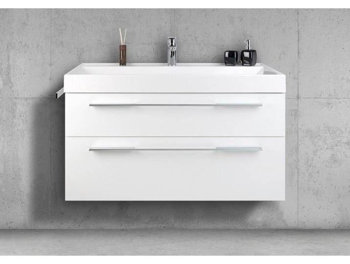 Badmobel 100 Cm Waschtisch Mit Unterschrank Waschtisch Set Made In Gemany Waschtisch Set Unterschrank Waschbeckenunterschrank