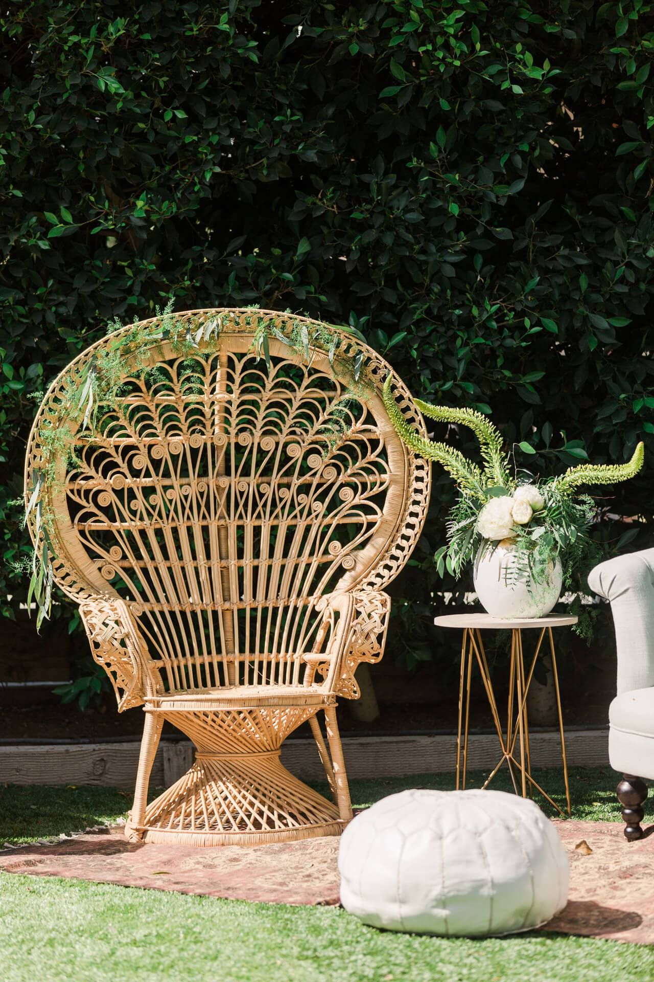 cool rattan peacock chair Purple dining chairs, Modern