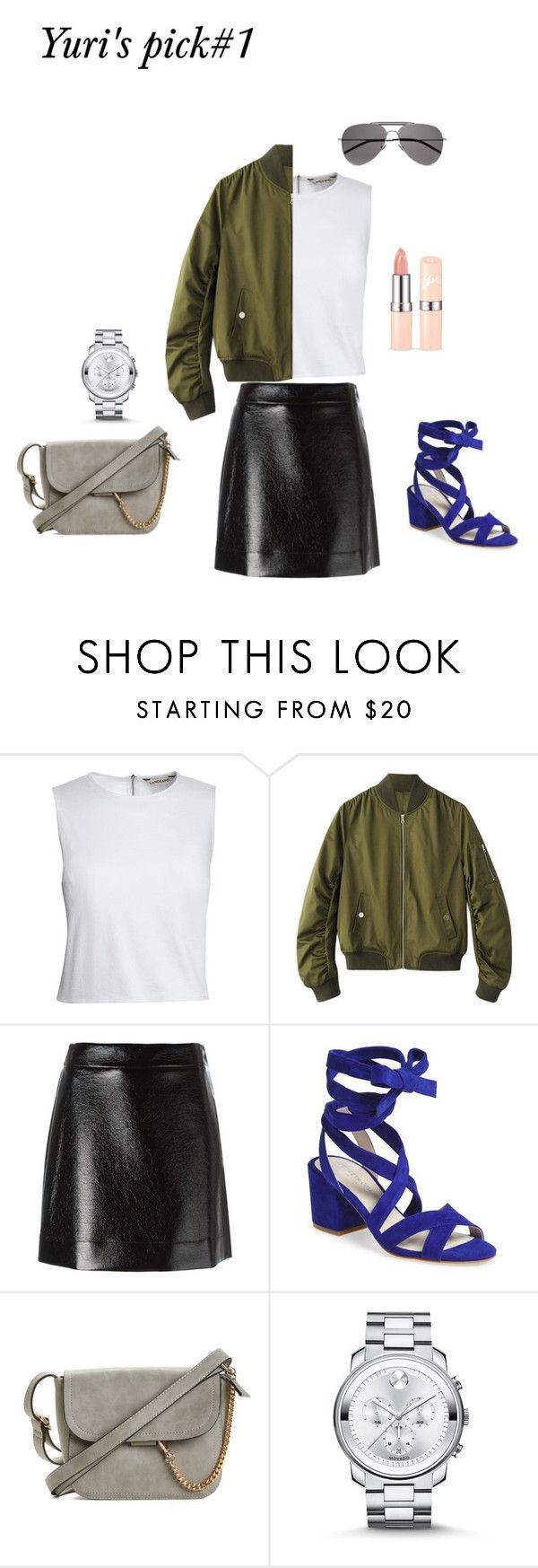 """Mini skirt- Yuri's Pick#1"" by yuri-writer on Polyvore featuring Canvas by Lands' End, MICHAEL Michael Kors, Kenneth Cole, Movado and Yves Saint Laurent"
