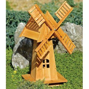 Beau DIY Decorative Windmill Wooden Ornament Art