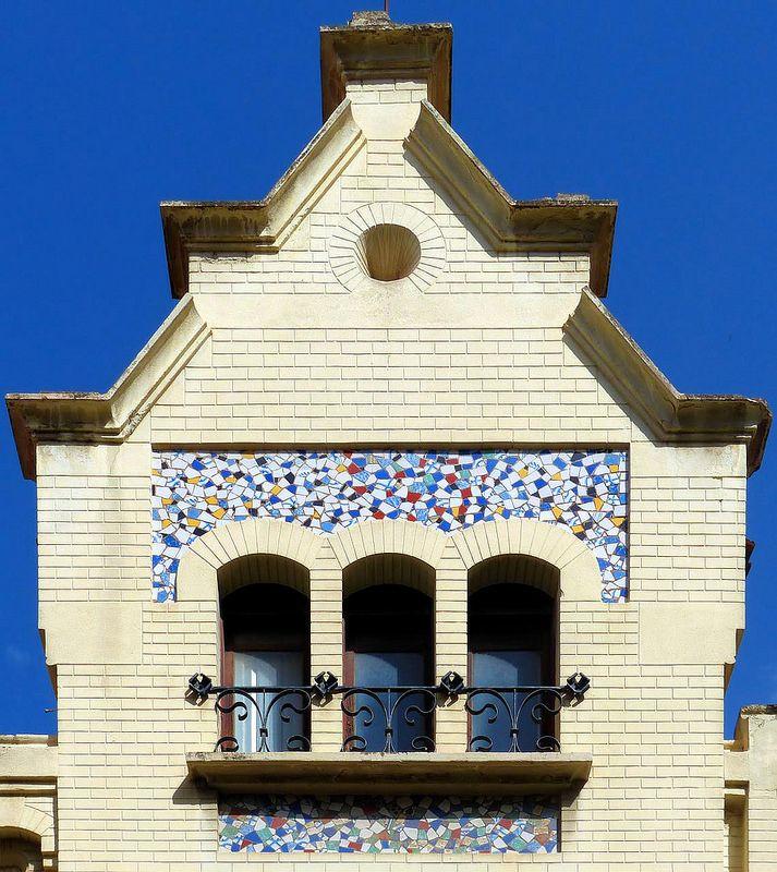 Sabadell Escola Industrial 18 B Art Nouveau Architecture Gaudi Barcelona House Styles