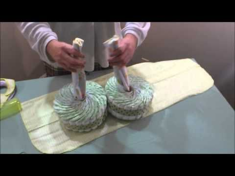 How To Make A Motorcycle Diaper Cake Tutorial Step By Step