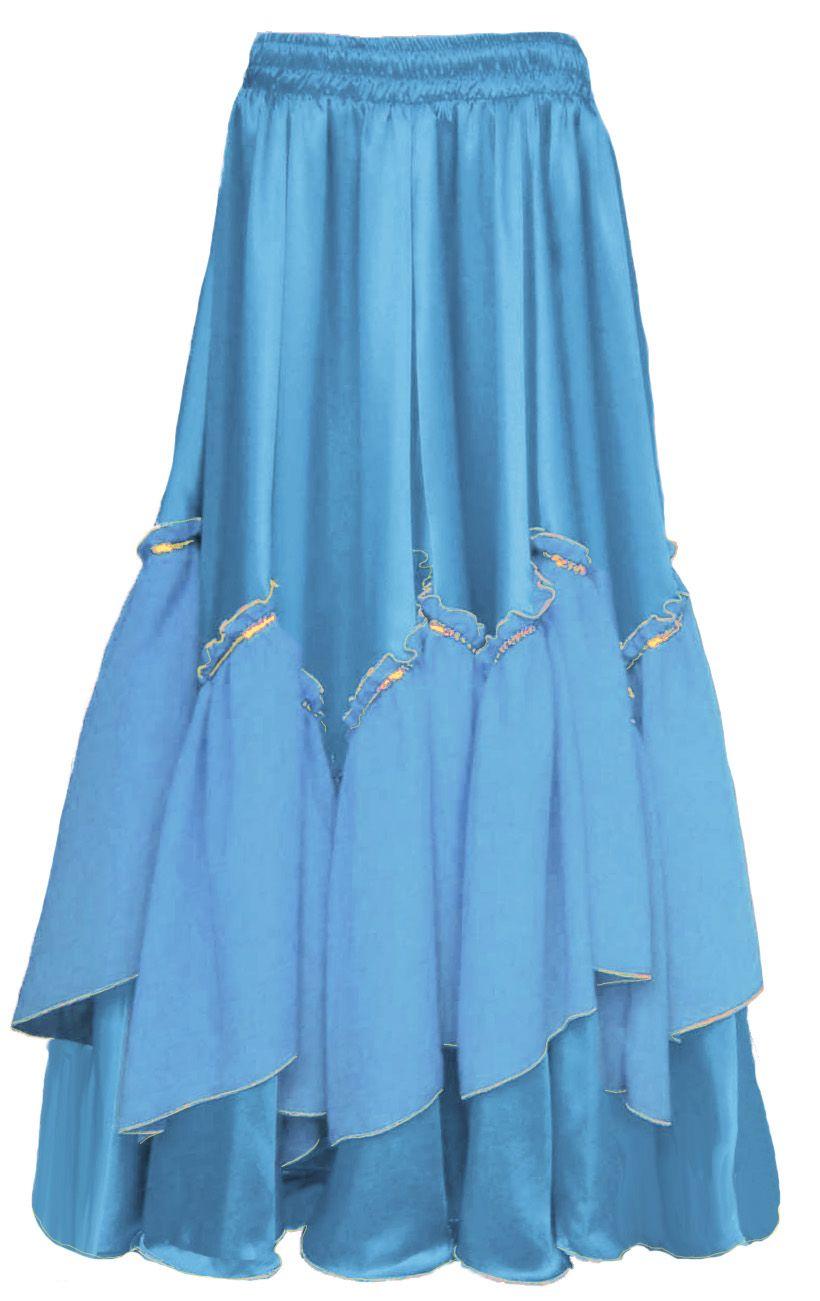 071b4f1ab1 Saia Cigana Sumaia Azul