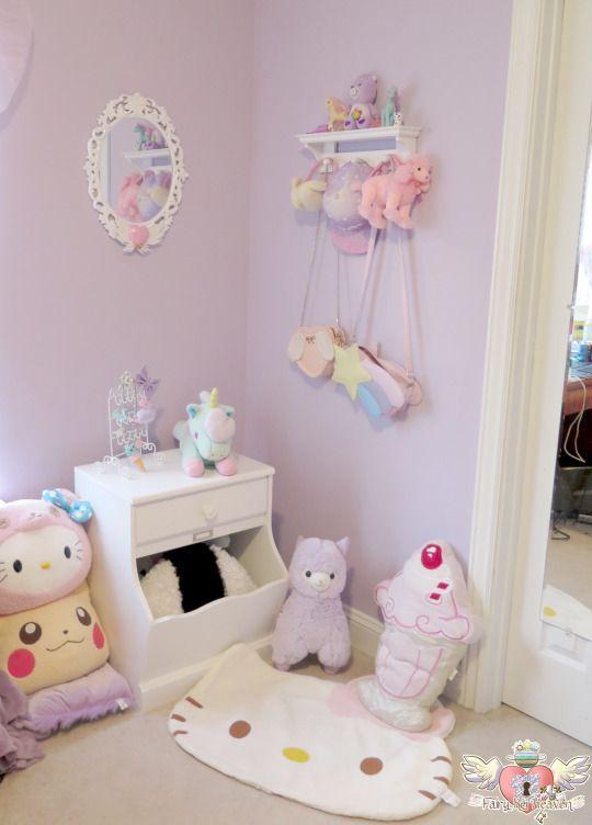 Image Result For Kawaii Minimalist Room Kawaii Bedroom Pastel