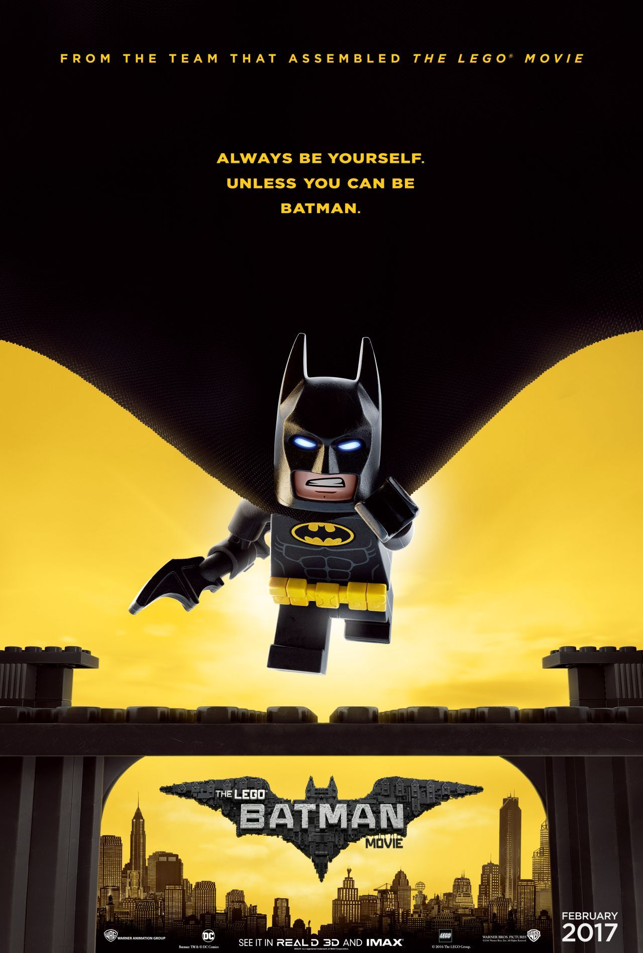 Lego Batman Movie Characters Fill The Latest Poster Com Imagens