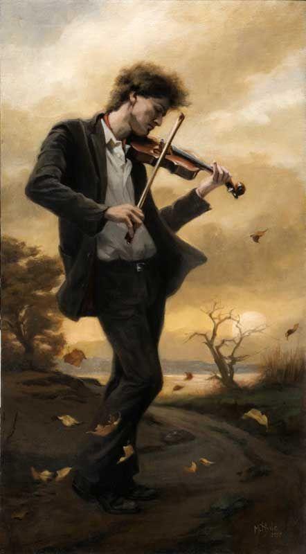 'The Fiddler' by Maureen Hyde