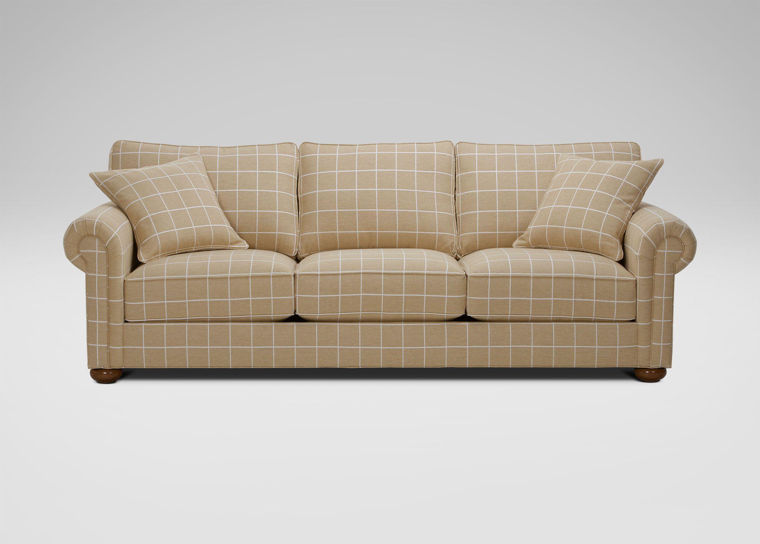 Richmond Sofa Large Gray