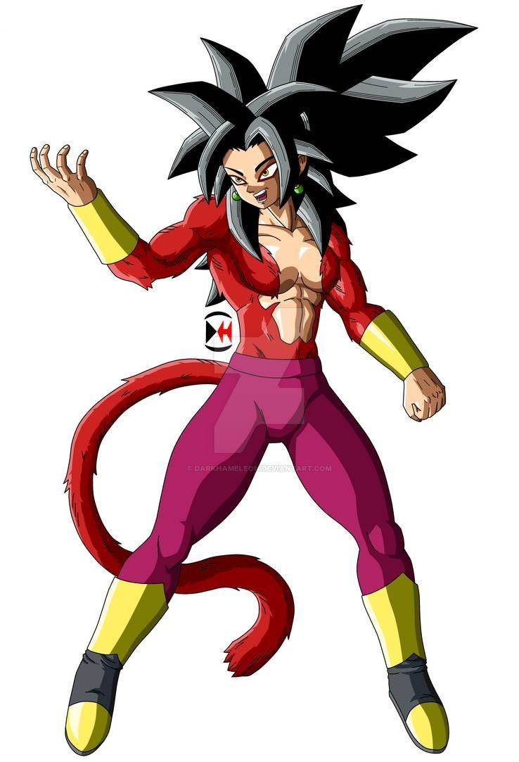 Kefla Super Saiyan 4 By Darkhameleon On Deviantart Anime Dragon Ball Super Super Saiyan Dragon Ball Super Artwork
