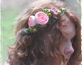 really love the flowers in the hair