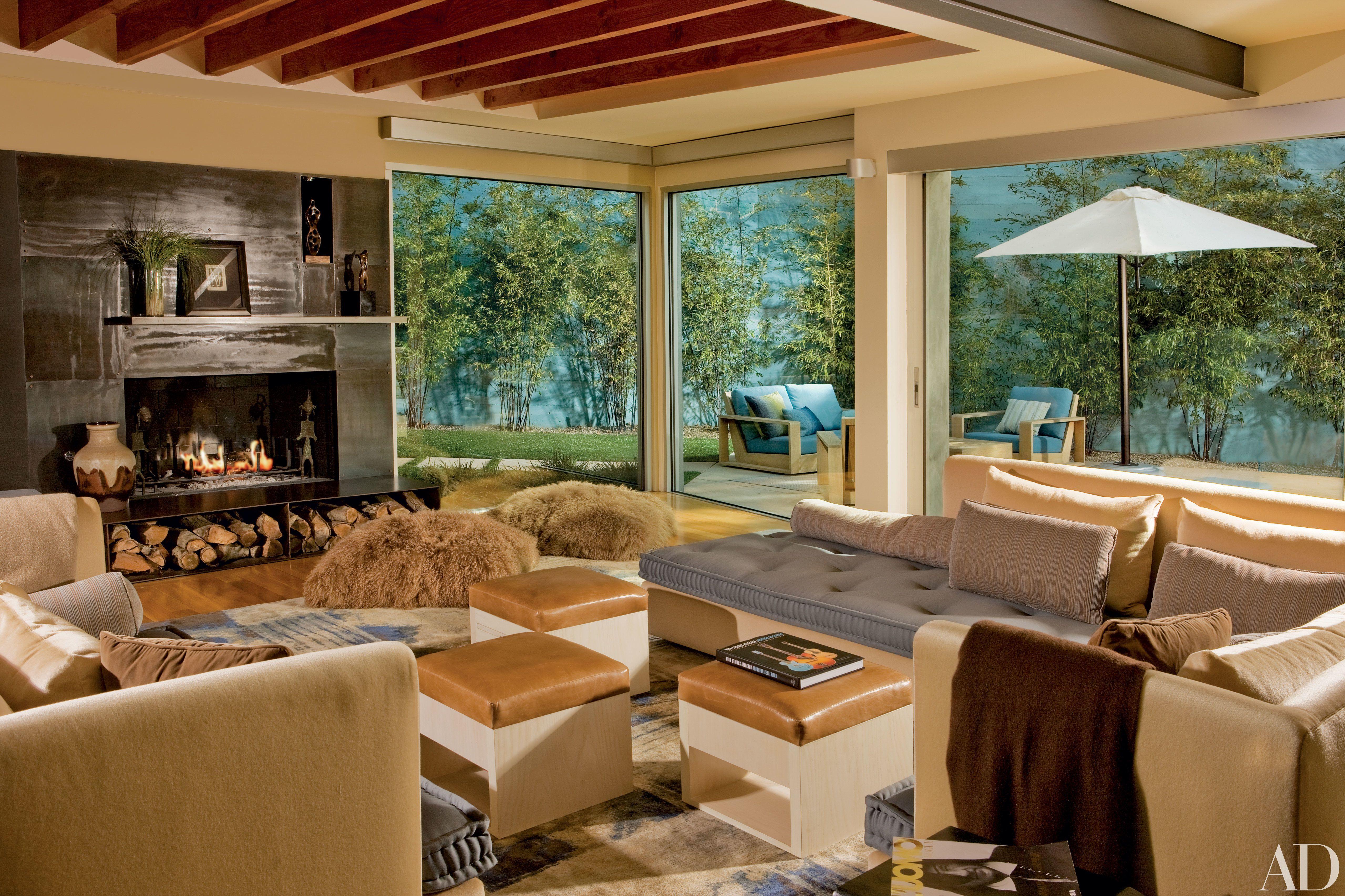 Take a Peek Inside 25 Living Rooms in Actors\' Homes