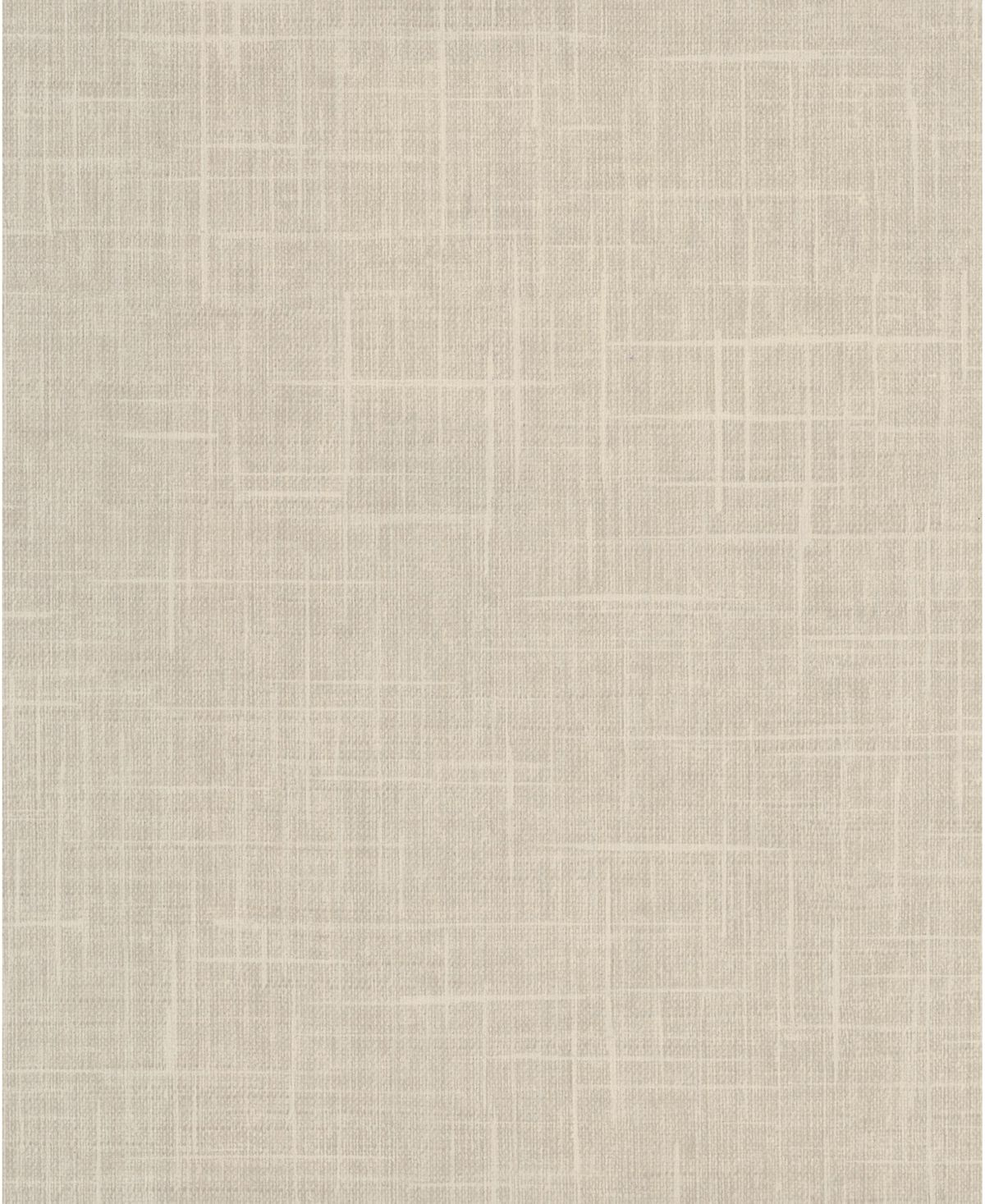 With a rich cream hue, this linen inspired wallpaper has a versatile look. Its textured design and tightly woven pattern add to its authentic look.
