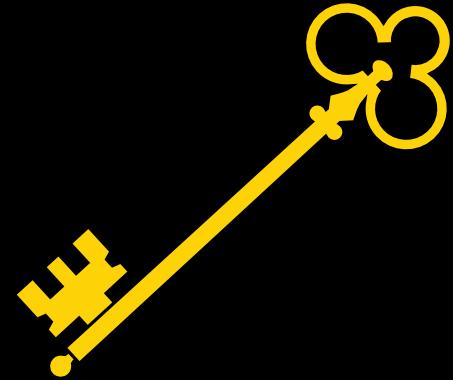 One Gold Key Sticker Design Element Free Image By Rawpixel Com Noon Design Element Key Design Sticker Design