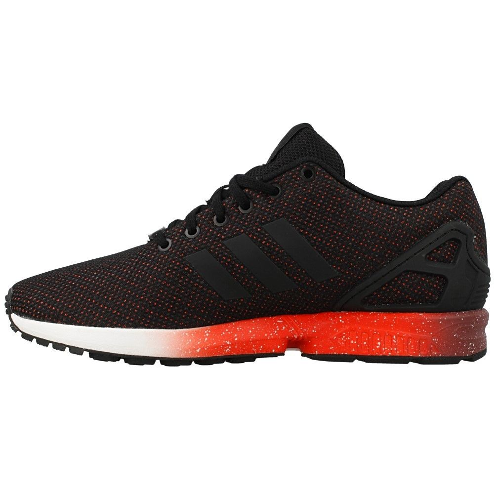 quality design b263b 335fb ... purchase adidas zx flux af6327 originals training hombres negro rojo  corriendo zapatos 87553 cde1b ...