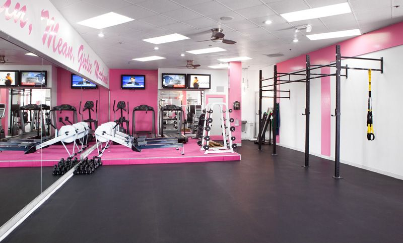 Pink Iron Gym In Hollywood Just Do It Iron Gym Gym