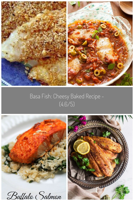 Photo of Basa Fish: Cheesy Baked #basa fish recipes Basa Fish: Cheesy Baked Recipe