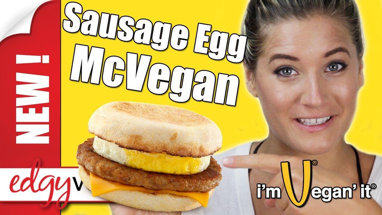 Vegan Recipe Egg Mcmuffin Breakfast Sandwich Edgy Veg Edgy Veg Vegan Junk Food Vegan Mcdonalds