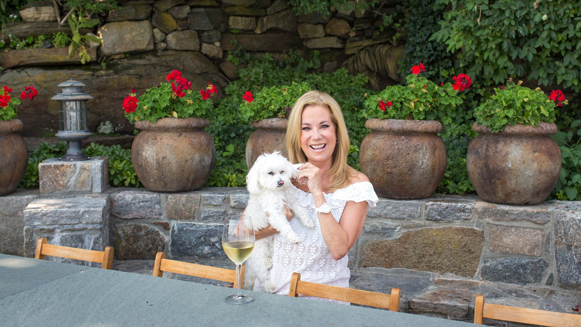 At Home With Today Join Kathie Lee Gifford In Her Favorite Spot
