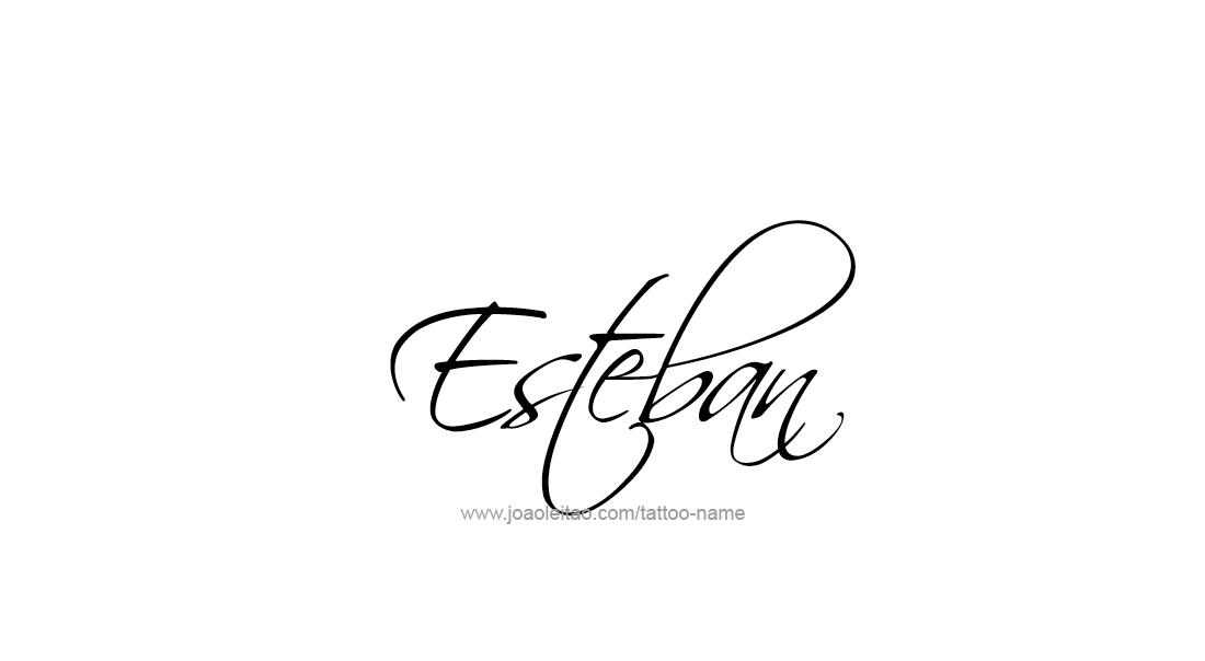 Esteban Name Tattoo Designs Baby Boom Pinterest Name Tattoos