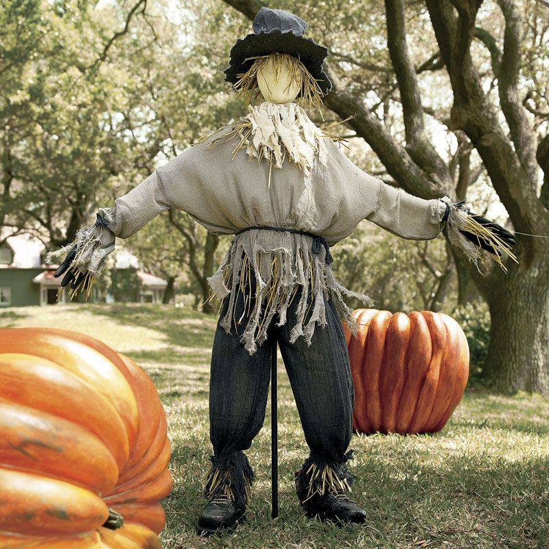 Giant Lifesized Scarecrow Halloween Scarecrow Halloween