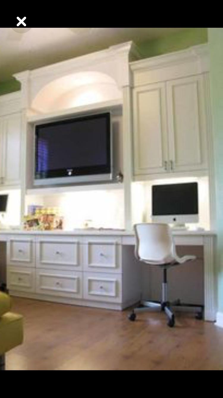 Pin By Matt Feller On Lr Office Desk In Living Room Home Office Design Home Office Furniture