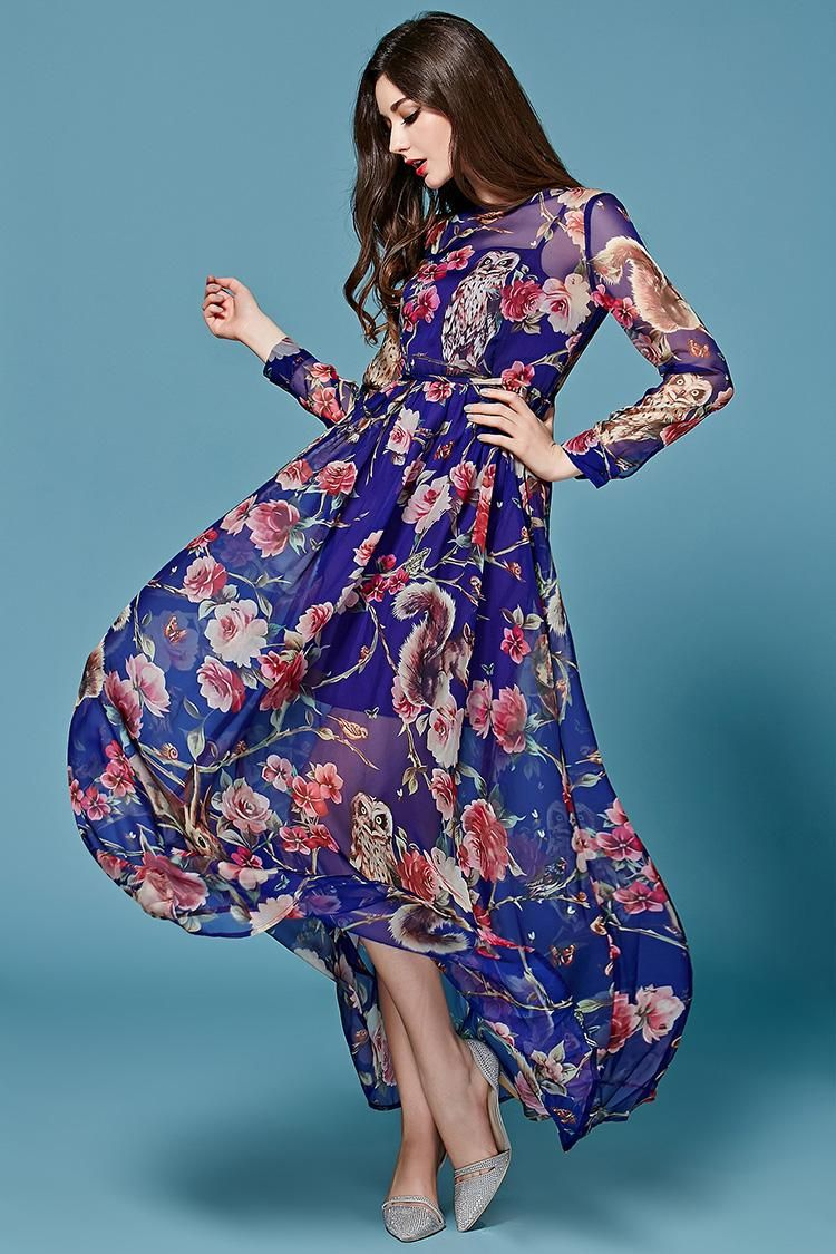 Elegant Floral Maxi Dresses Inspiration For Your Party | Maxi ...