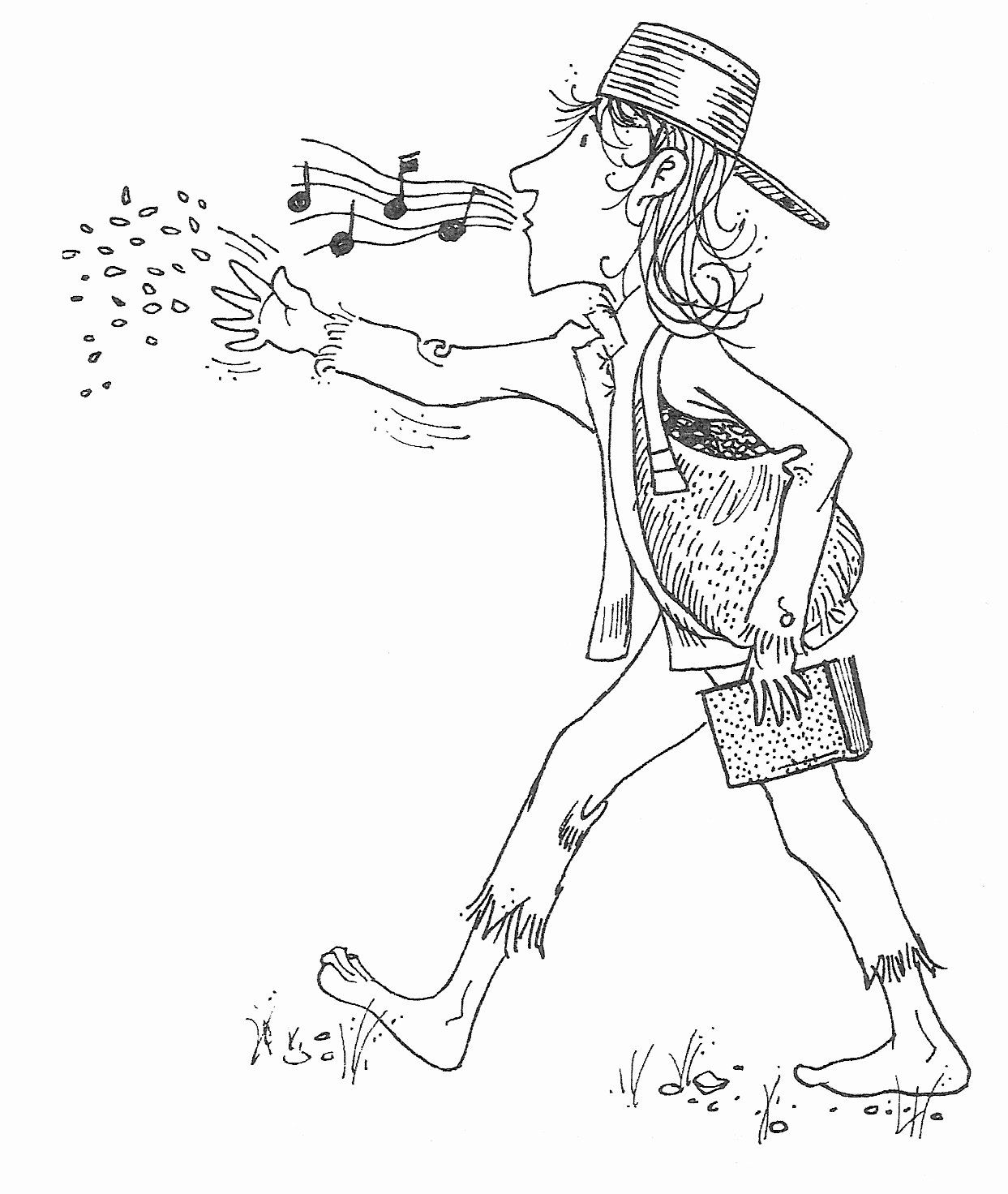 Johnny Appleseed Coloring Page New Johnny Appleseed Coloring Pages Best Coloring Pages For Kids In 2020 Coloring Pages Apple Coloring Pages Coloring Pages For Kids