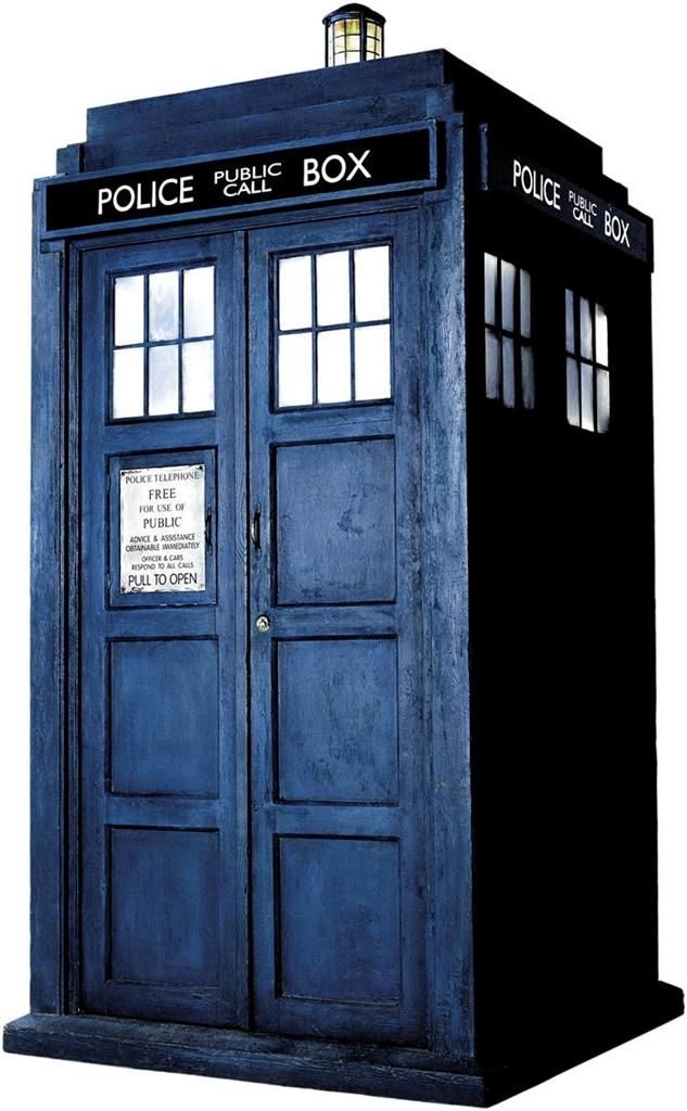 Dr WHO TARDIS Phone Booth Decal WALL STICKER Home Decor Art Police Call  Doctor
