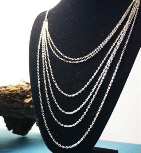 Fashion Charm Joyas Colgante Cadena Gargantilla Gruesa Collar Collar de Declaración