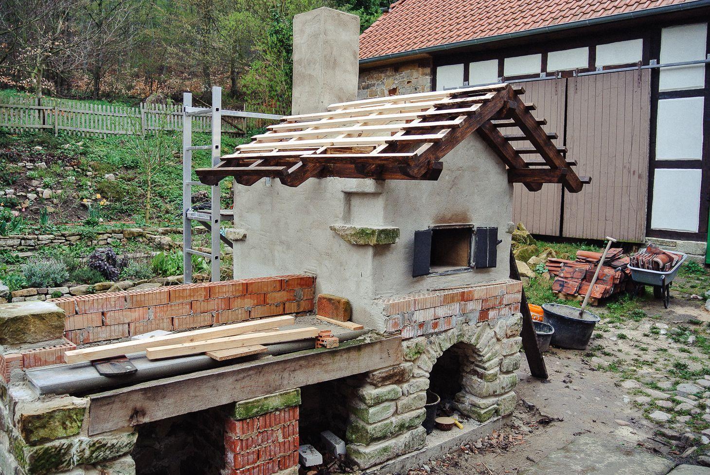 Der Bau Eines Steinbackofen Lehmbackofen Blog Steinbackofen