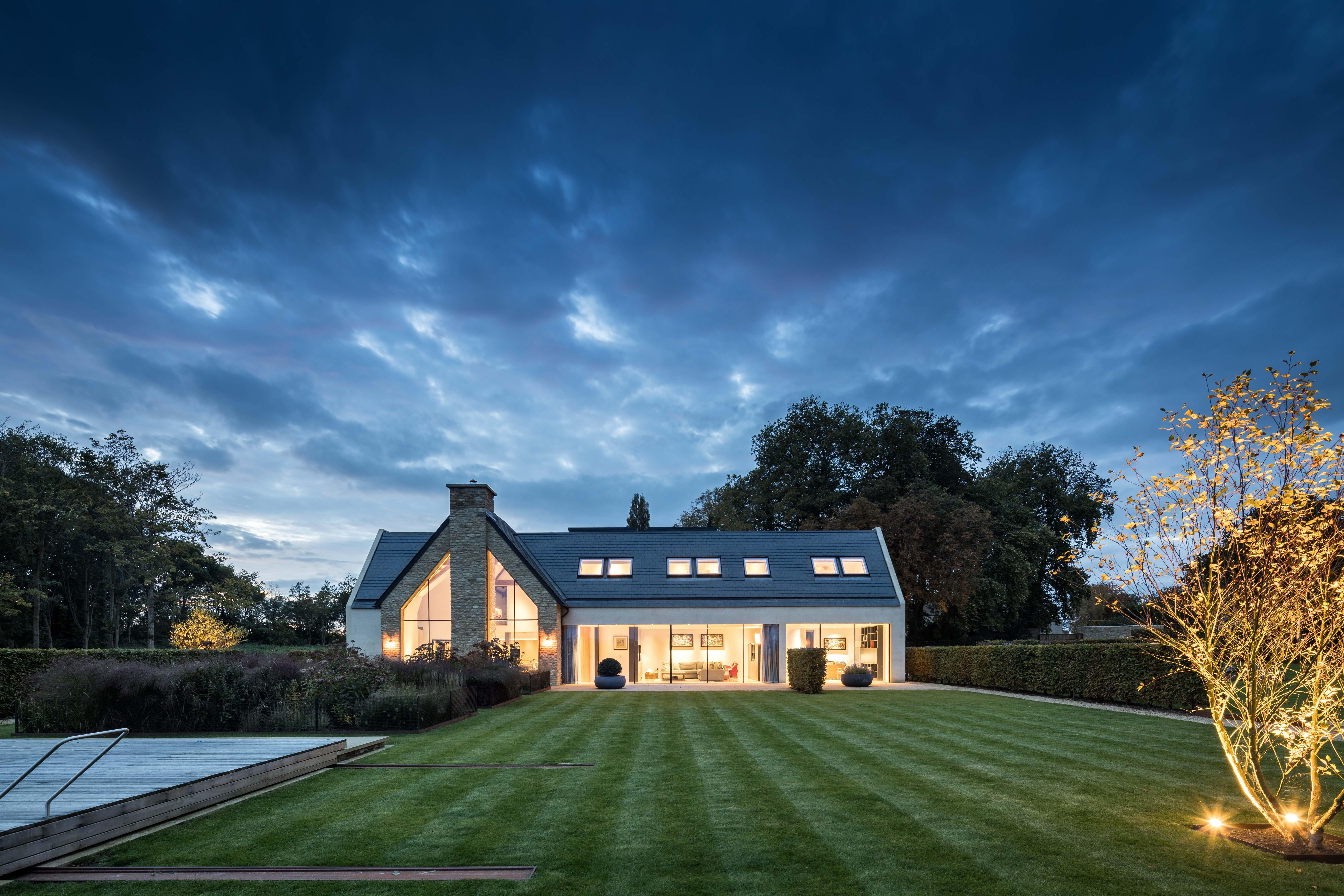 Angus Thompson design: Lighting - Oxfordshire garden ...