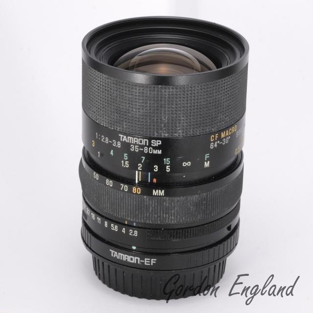 Tamron Sp 35 80mm F 2 8 3 8 Vintage Lenses Tamron Zoom Lens