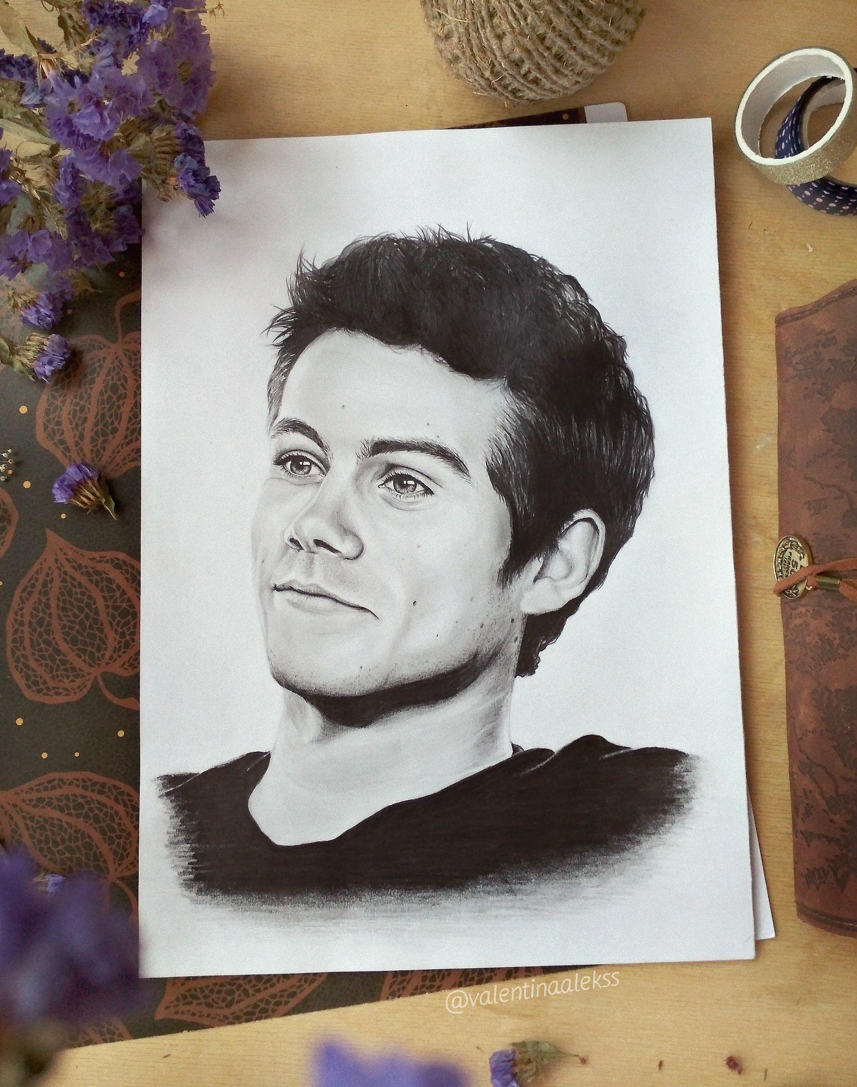 """""""Lol ur not Dylan O'Brien {FULL}"""" T-shirt by fandomss ...  Monochromatic Portrait Dylan Obrien"""