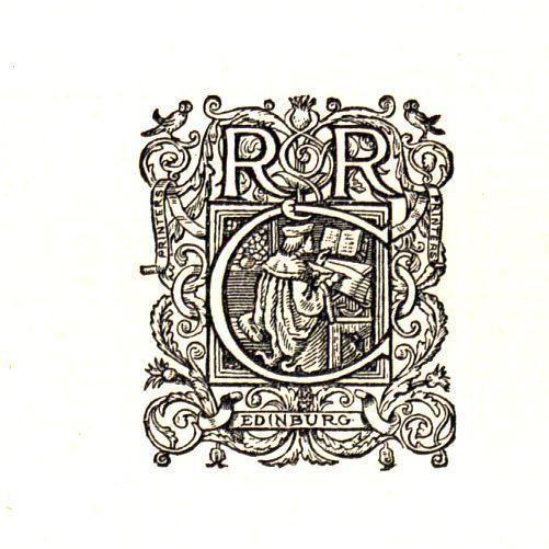 Device Of R & R Clark. 1893. British Library Shelf Mark W7