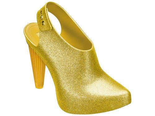 Cross - gold glitter