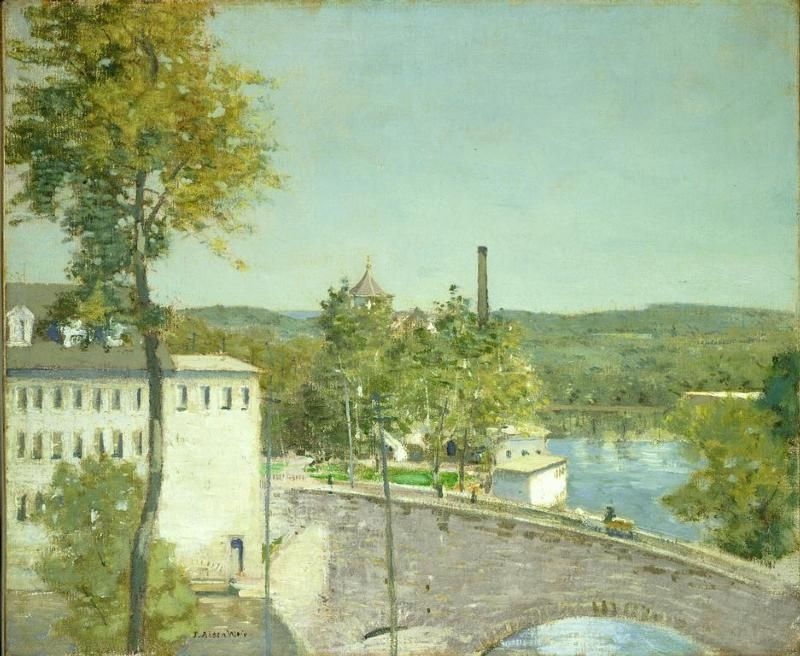 Photo Gallery U S National Park Service Willimantic Painting Landscape
