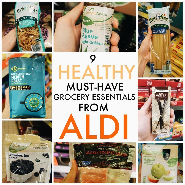9 Healthy MUSTHAVE Grocery Essentials from ALDI