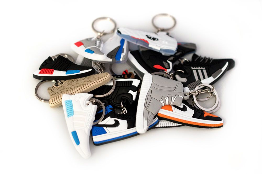 9.99 - Jordan Nmd Yeezy Bred Fire Red Air Mag Space Jam Shoe Keychain  Random Packs  ebay  Fashion 7310ce61d