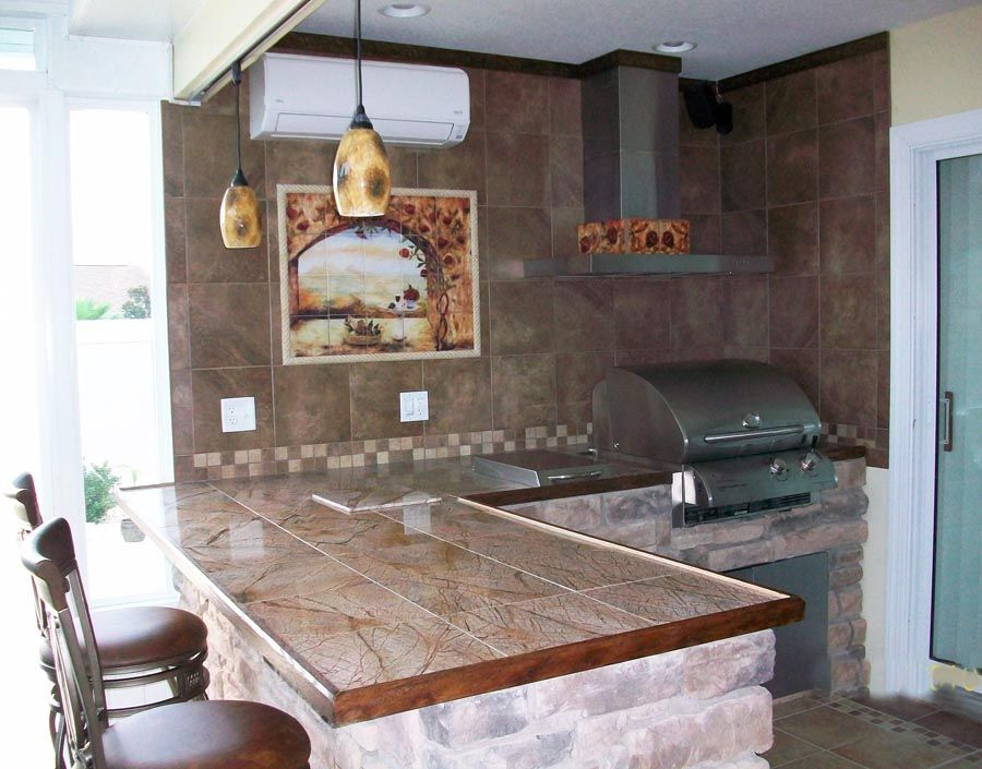 kitchens lighting and mural backsplash ideaskitchen backsplashoutdoor
