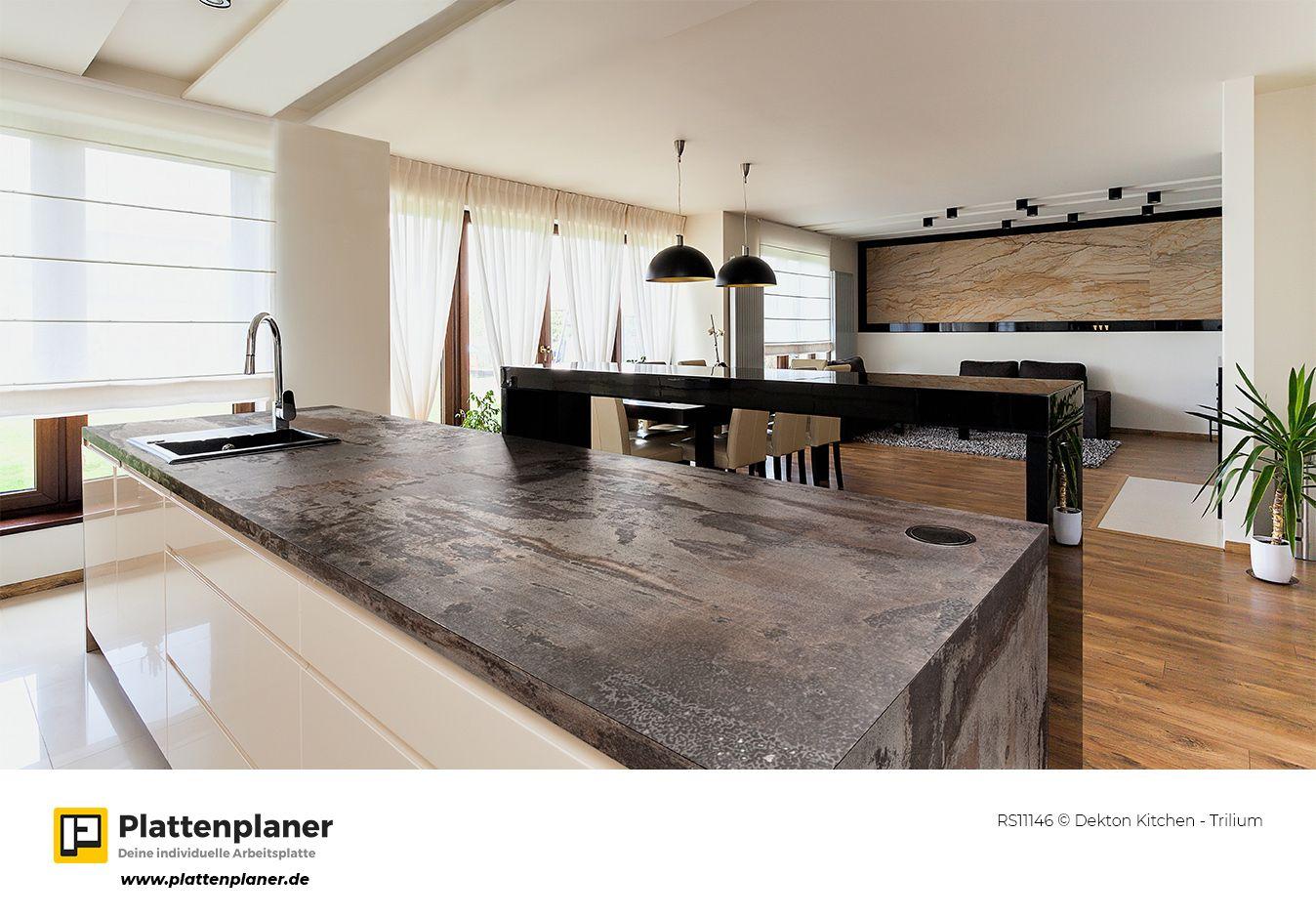 RS11146 © Dekton Kitchen - Trilium #plattenplaner #arbeitsplatte ...